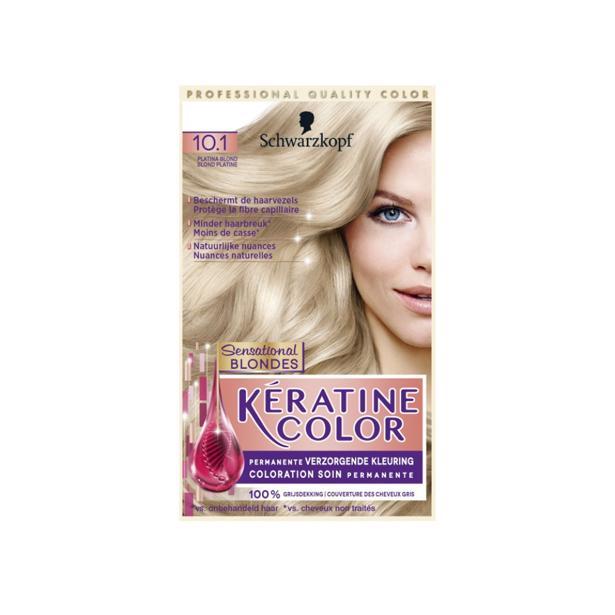 Schwarzkopf Keratine Color 10.1 - Platina Blond