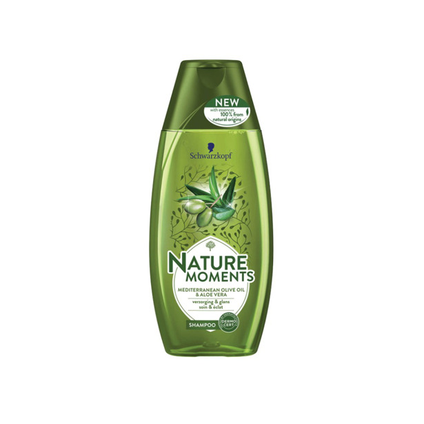 Schwarzkopf Nature Moments Mediterranean Olive Oil & Aloe Vera Shampoo