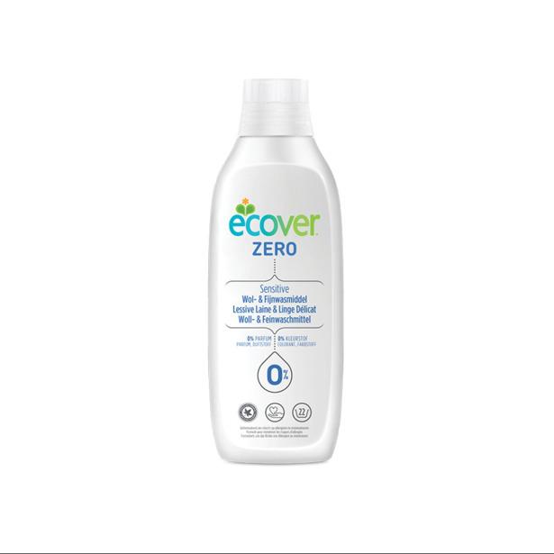 Ecover Wasmiddel Zero Wol & Fijne Was Sensitive 0% Parfum