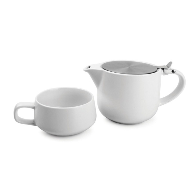 Salt & Pepper Tea for one set 60cl wit Anders