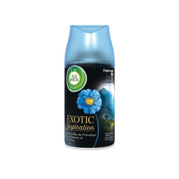 Airwick Freshmatic Exotic Inspiration Blauwe Klaproos Refill