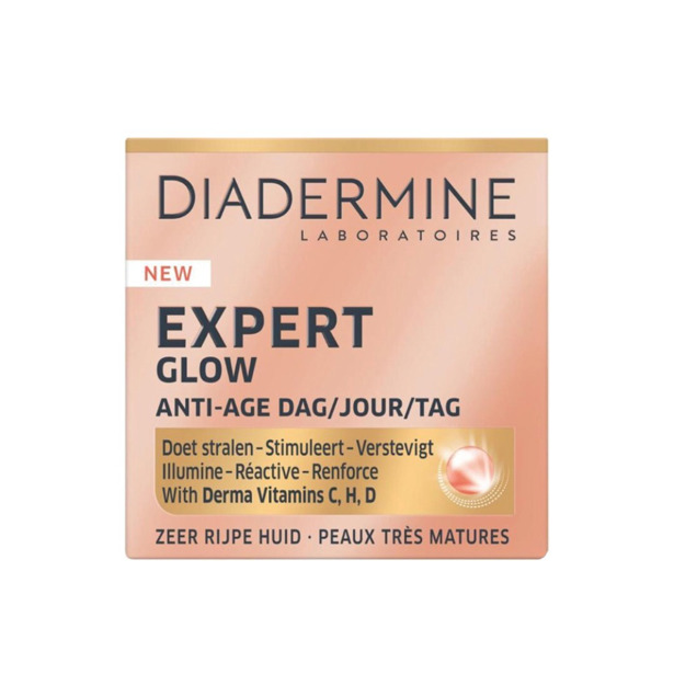 Diadermine Dagcrème Expert Glow Anti-age