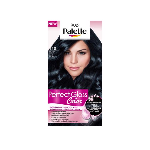 Schwarzkopf Poly Palette Perfect Gloss Color 110 - Glossy Zwart