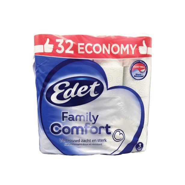 Edet - Family Comfort Toiletpapier 36 Rollen