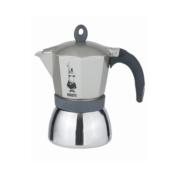 Bialetti Moka Induction Espresso Maker Antraciet 6 Tassen