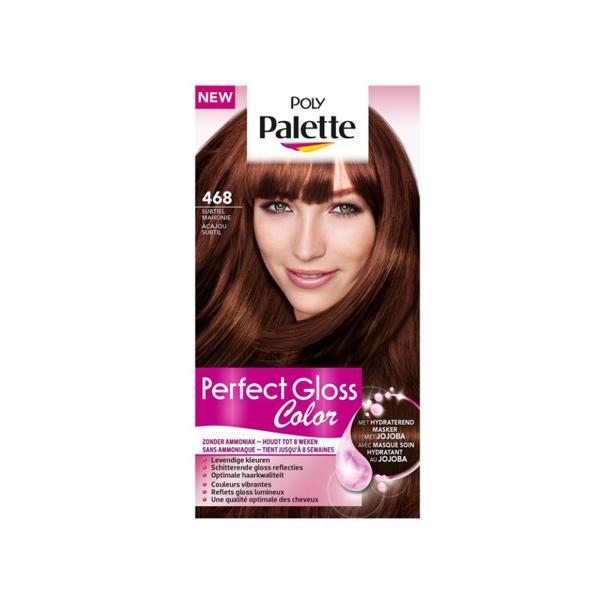 Schwarzkopf Poly Palette Perfect Gloss Color 468 - Subtiel Mahonie