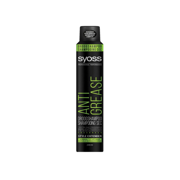 Syoss Droogshampoo Anti-Grease Normaal tot Vet Haar