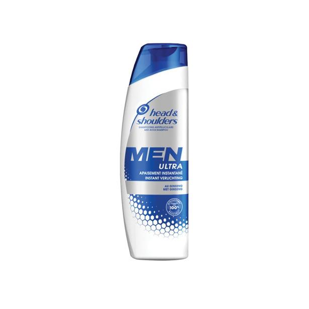 Head & Shoulders Men Ultra Instant Verlichting met Ginseng Shampoo