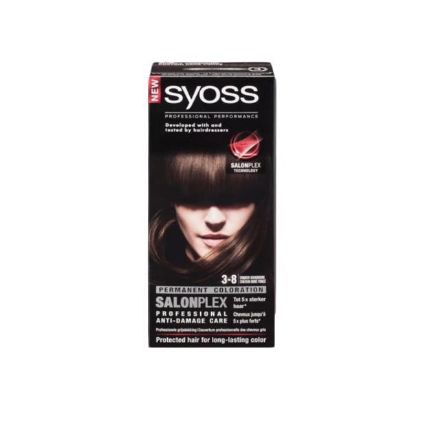 Syoss Donker Goudbruin Professional Performance 3-8 voordeelverpakking