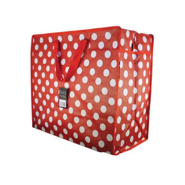 Luzinda Jumbo Storage Bag Polka Dots in voordeelverpakking!