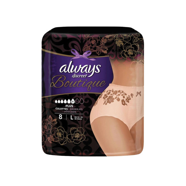 Always Discreet Pants Boutique Plus Large
