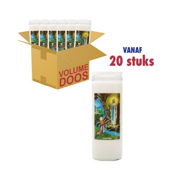 Spaas noveenkaarsen Lourdes voordeelverpakking 20 kaarsen