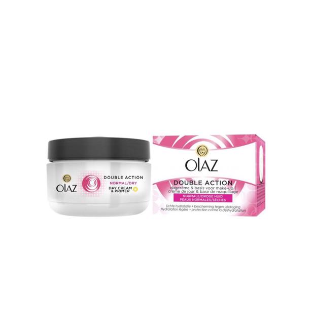Olaz Double Action Dagcrème voor Normale en Droge Huid