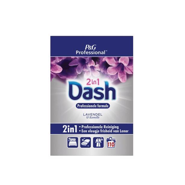 Dash waspoeder Professionele formule Lavendel 7.15 kg
