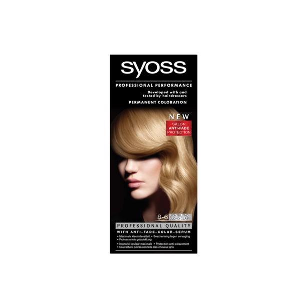 Syoss Lichtblond Professional Performance 8-6 voordeelverpakking