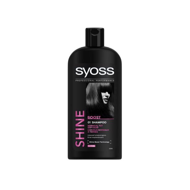 Syoss Shine Boost Shampoo