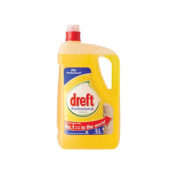 Dreft Professional Afwasmiddel Citroen 5 Liter