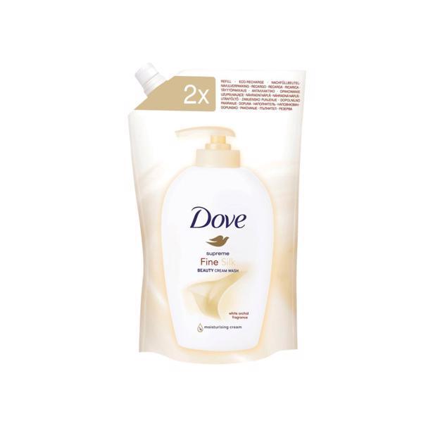 Dove Handzeep Fine Silk navulling 500ml