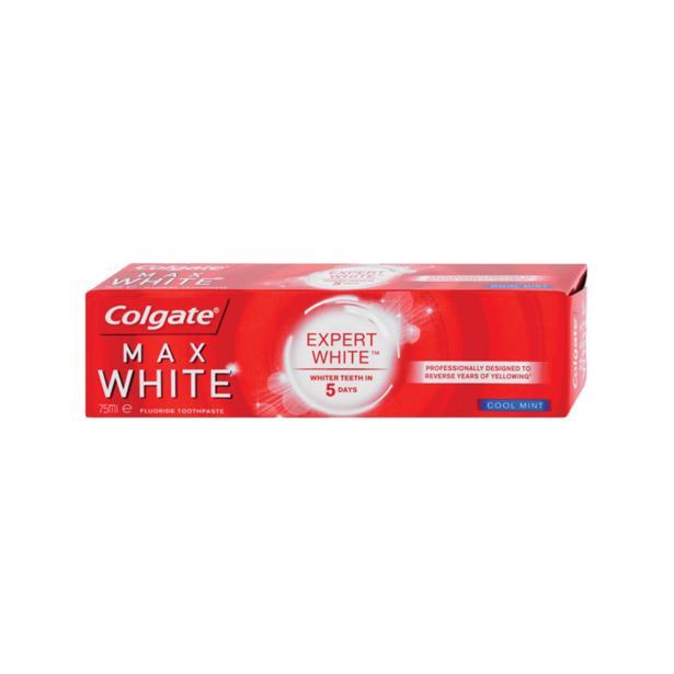 Colgate Max White - Expert White in voordeelverpakking!
