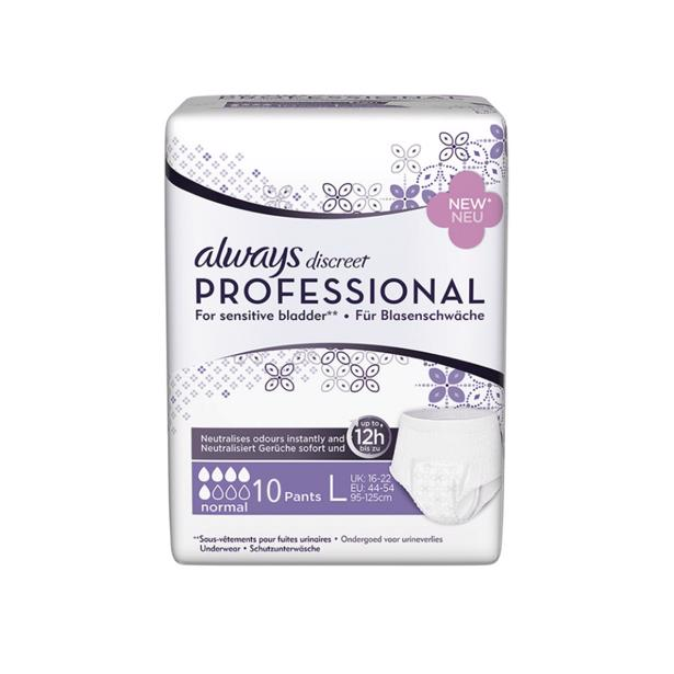 Always Discreet Professional Large Normal (44-54)