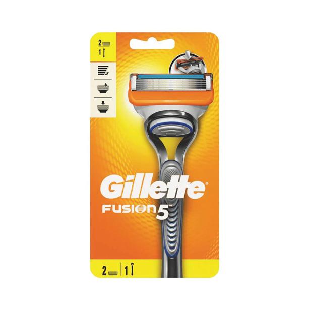 Gillette Fusion 5 Scheerapparaat en 2 navullingen