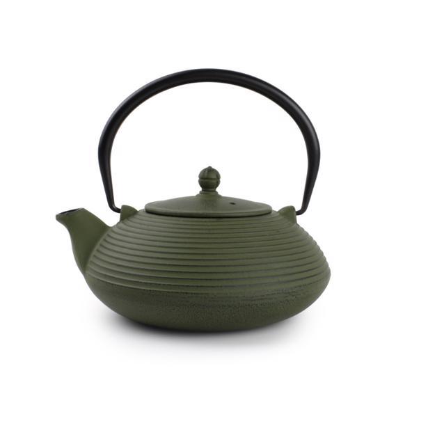 O-Tea Theepot 1.1L Gietijzer Groen