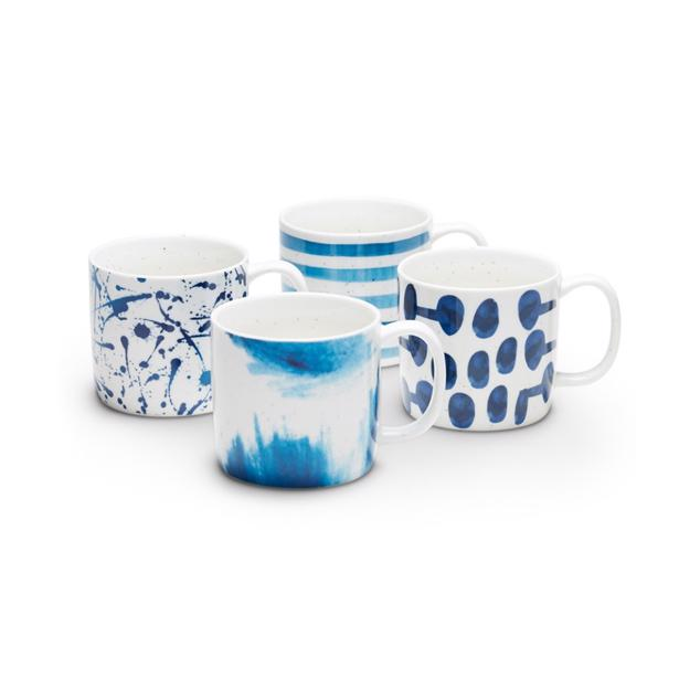 Salt & Pepper - Mug Blue Barista (set van 4)