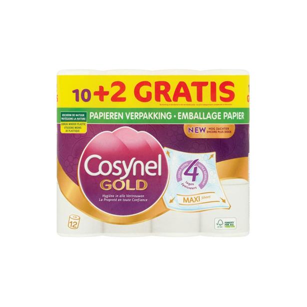 Cosynel Toiletpapier Gold 4 lagen