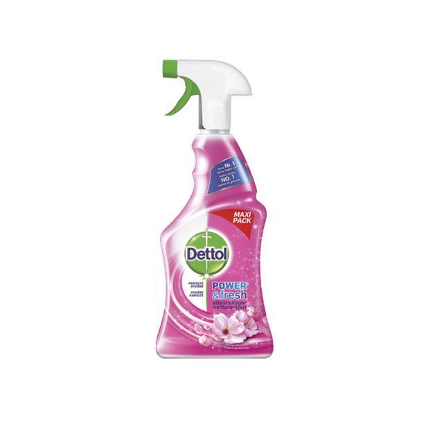 Dettol Power & Fresh Allesreiniger Spray Kersenbloesem