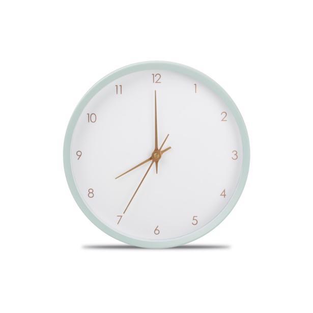 Yong - Wandklok O'Time 26 cm Muntgroen