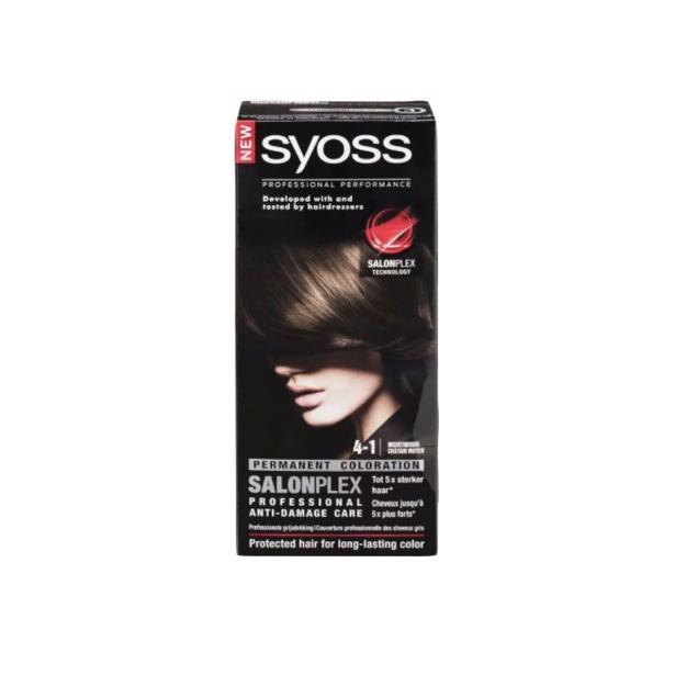 Syoss Middenbruin Professional Performance 4-1 voordeelverpakking
