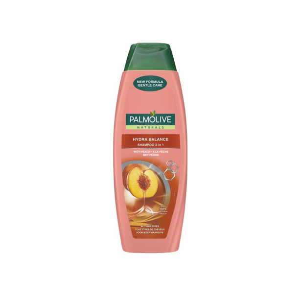 Palmolive Shampoo Naturals Hydra Balance 2in1 Perzik 350ml