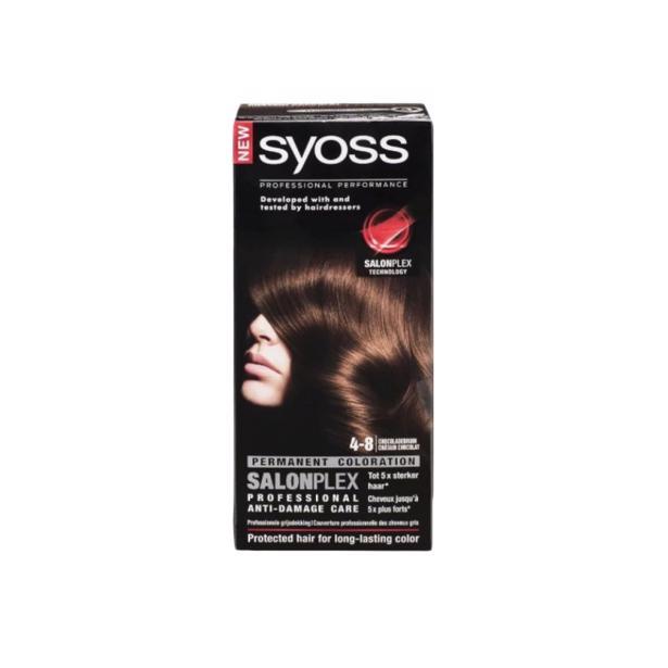Syoss Chocoladebruin Professional Performance 4-8 voordeelverpakking