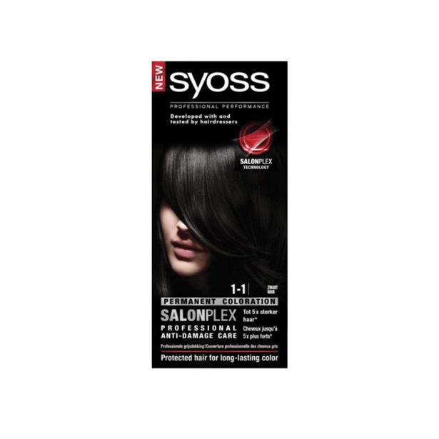 Syoss Zwart Professional Performance Salonplex 1-1