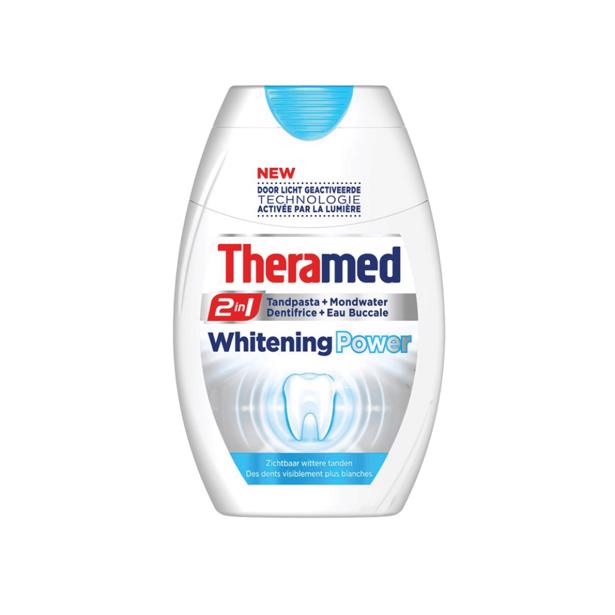Theramed 2 in 1 Whitening Power in voordeelverpakking!