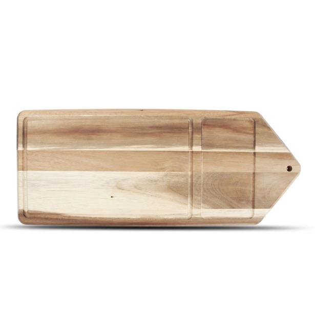 Wood & Food Serveerplank 46x18cm acacia Essential