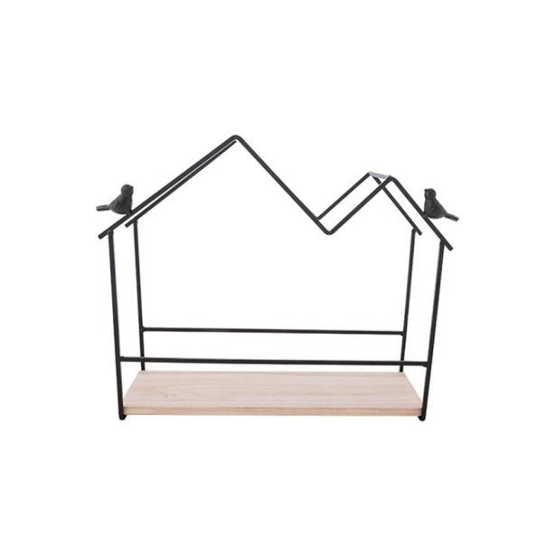 Cosy & Trendy Decoratierek Houses With 2 Birds 34 x 11 x h 27 cm
