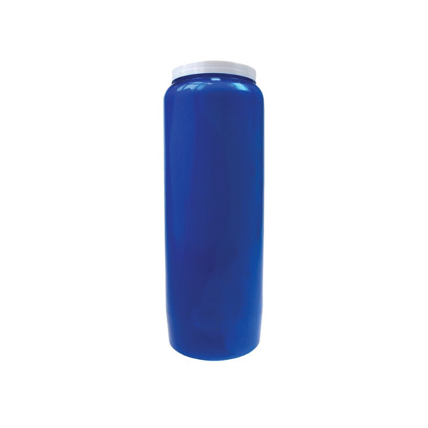 Spaas noveenkaarsen blauw voordeelverpakking 20 kaarsen