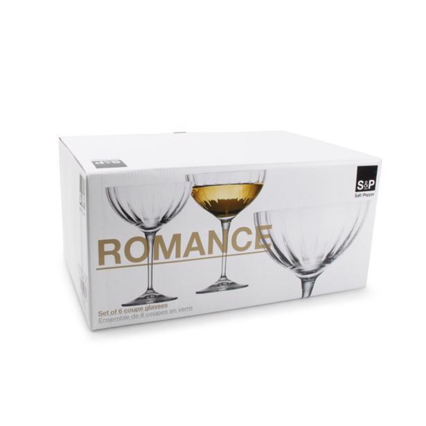 Salt & Pepper - Romance Champagnecoupes (set van 6)
