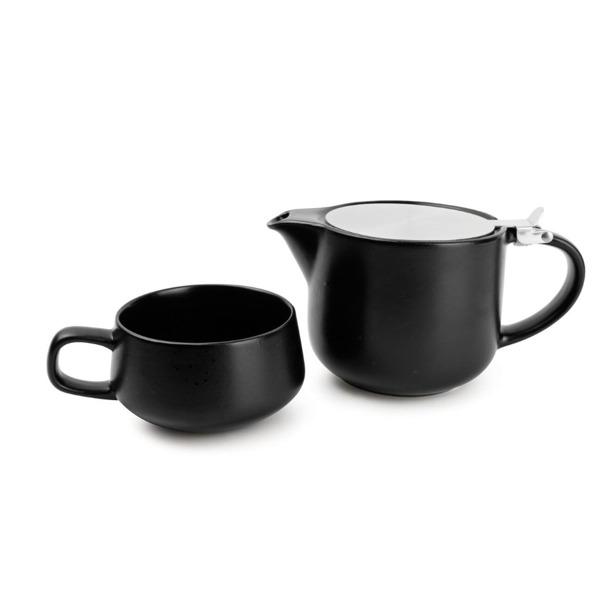 Salt & Pepper Tea for one set 60cl zwart Anders