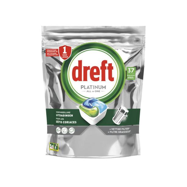 Dreft Platinum All-in-One Original Vaatwastabletten