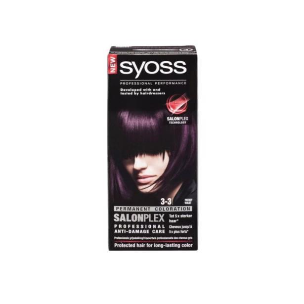 Syoss Trendy Violet Professional Performance 3-3 voordeelverpakking