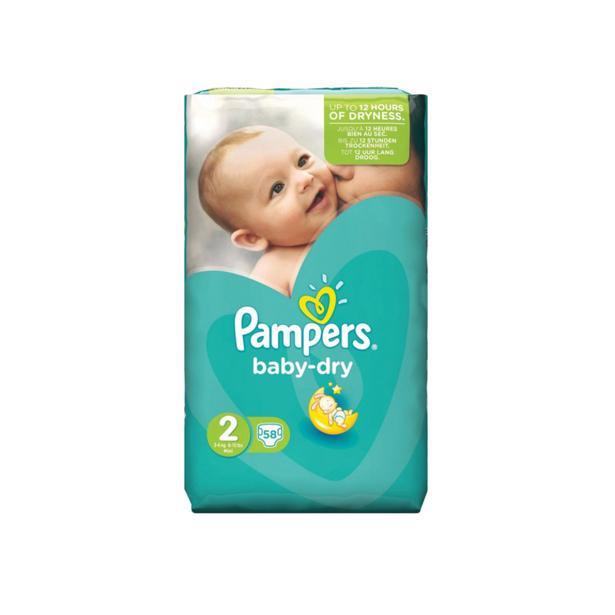 Pampers Baby Dry 2 in voordeelverpakking!