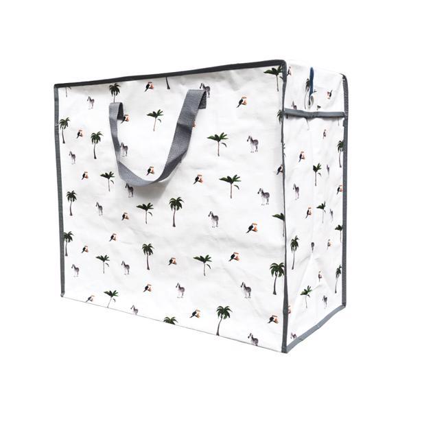 Luzinda Jumbo Storage Bag Zebra in voordeelverpakking!
