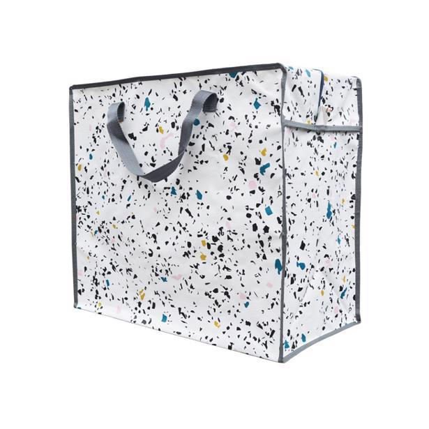 Luzinda Jumbo Storage Bag Terrazzo in voordeelverpakking!