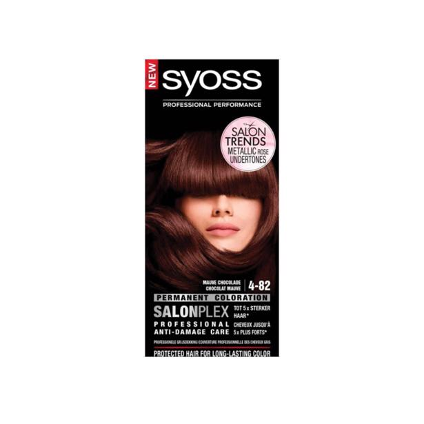 Syoss Mauve Chocolade Professional Performance 4-82