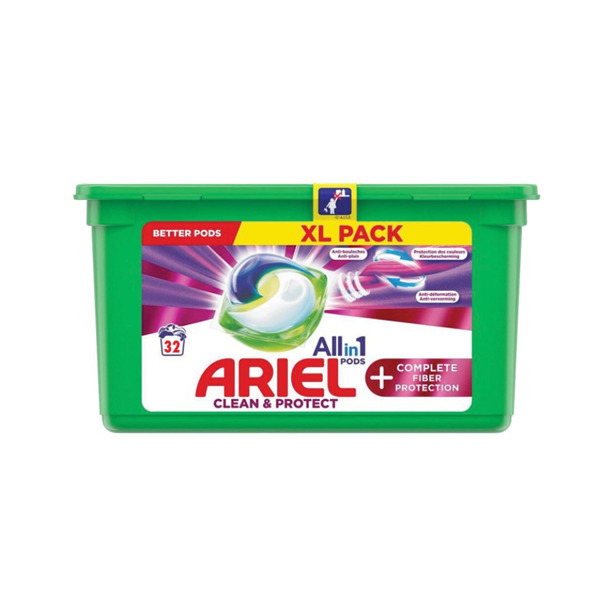 Ariel 3 in 1 Pods + Fiber Protection