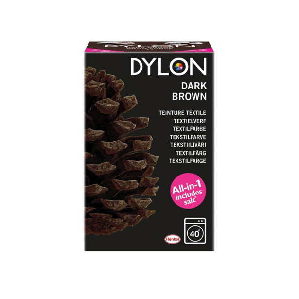Dylon Textielverf Dark Brown