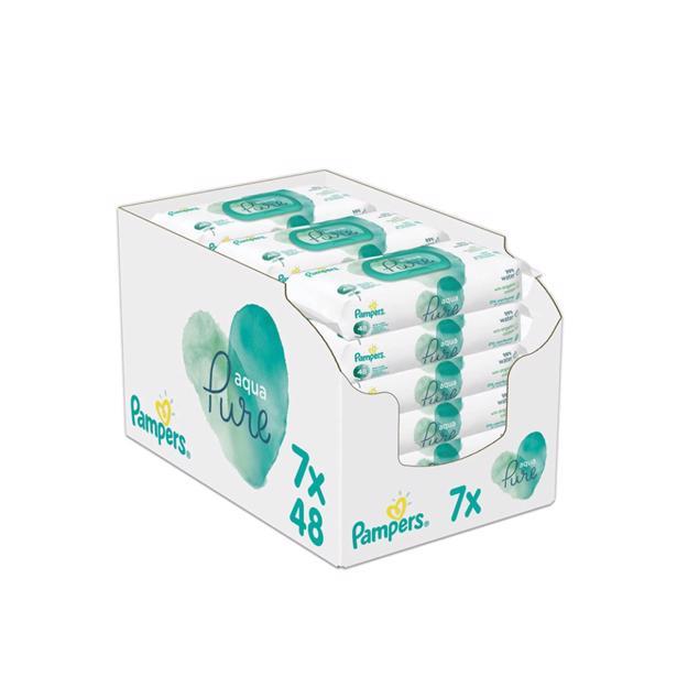 Pampers - Aqua Pure Babydoekjes
