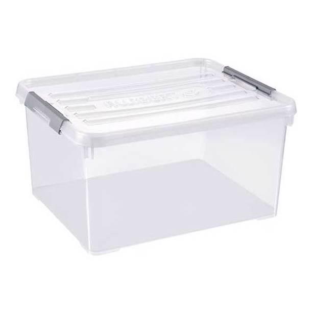 Curver Handy Plus Box 35L - 49x39x25cm - Transparant